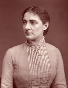 Royaume-Uni Theatre Actrice Emily Fowler Ancienne Photo 1880