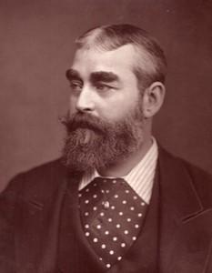 Royaume-Uni Theatre Acteur Frank Burnand Ancienne Photo 1880