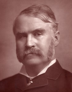 United Kingdom Theatre Stage Dramatist  W. S. Gilbert old Photo 1880