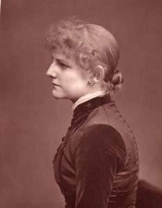 United Kingdom Theatre Stage Actress Violet Cameron old Photo 1880