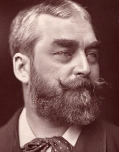 Royaume-Uni Theatre Acteur Frank C. Burnand Ancienne Photo 1880