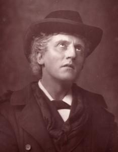 United Kingdom Theatre Stage Actor Wilson Barrett old Photo 1880