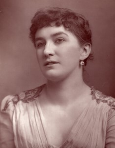 United Kingdom Theatre Stage Actress Nelly Bromley old Photo 1880
