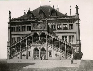 Switzerland Bern City Hall Facade Rathaus Hotel de Ville Old Photo 1890