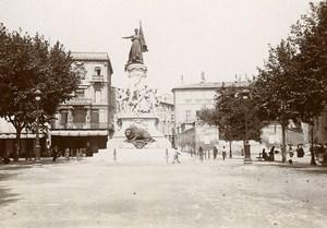 France Avignon Monument du Centenaire Centenary Charpentier Photo Jusniaux 1895