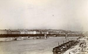 France Lyon Rhone River Basilica of Saint-Martin d'Ainay Old Photo Jusniaux 1895