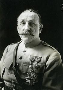 France Paris Military General Auguste Dubail Portrait Old Meurisse Photo 1930