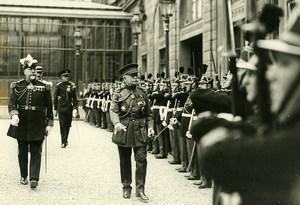 France Paris Belgian Lt Colonel Lemercier General Braconnier Photo Meurisse 1930