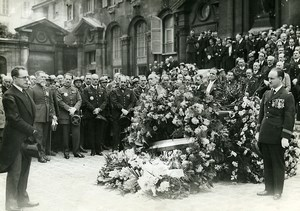 France Paris Pierre Cot Captain Arrachart Funeral Old Photo Meurisse 1933