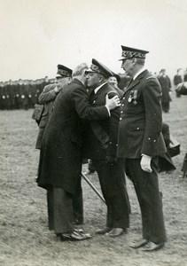 France Paris Aviation Lebrun decorating General Vuillemin Photo Meurisse 1934