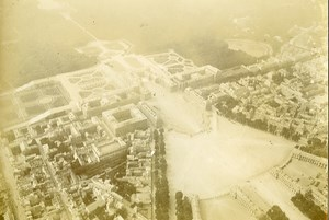 France Versailles Castle Aerial View Old Sazerac de Forge Photo 1914-1918