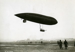 France Early Aviation Airship Dirigible Astra Torres Old Photo Branger 1910