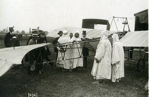 France Vichy Aviation Sultan of Morocco Mulai Abdelhafid Old Photo Branger 1912