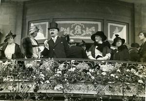 Paris Lonchamp Horse Racing Track President Albert Lebrun Photo Meurisse 1930