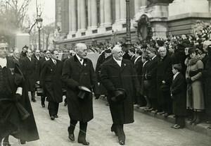 Paris Funerals Dewoitine 332 Emeraude Crash Victims Aviation Photo Meurisse 1934