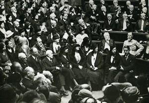 Paris Académie des Sciences Morales et Politiques Centennial Photo Meurisse 1932