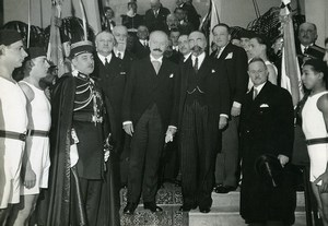 Paris Albert Lebrun maison du Jeune Français Opening Old Photo Meurisse 1933