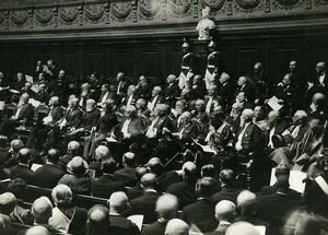 Paris Sorbonne College de France 4th Centennial Old Meurisse Photo 1930