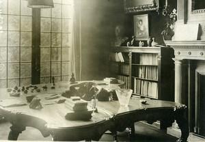 Paris Museum Apartment of Georges Clémenceau Old Meurisse Photo 1930
