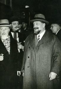 Paris Politician M Guerin Quai d'Orsay Old Meurisse Photo 1930