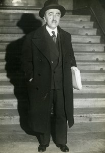 Paris Politician M Abel Gardey Budget Minister ? Old Meurisse Photo 1933
