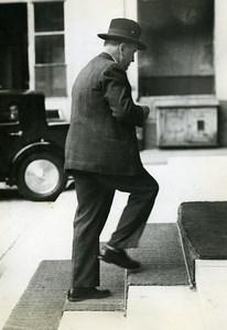 Paris Politician Edouard Daladier War Ministry Old Meurisse Photo 1930