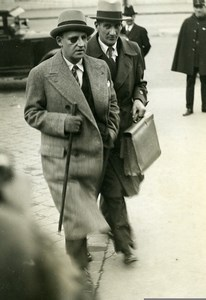 Paris Politician Lawyer Georges Scapini Old Meurisse Photo 1930