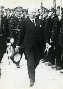 Paris Death of Marine Minister Georges Leygues Old Meurisse Photo 1930