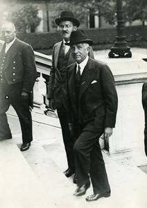 Paris American Diplomat Mr Norman Davis Old Meurisse Photo 1933