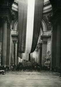 Paris Pantheon State Funerals of Mr Paul Painlevé ? Old Photo Meurisse 1933
