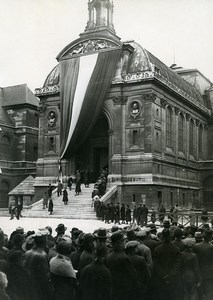 Paris Arts et Metiers Paul Painlevé Funerals Old Photo Meurisse 1933