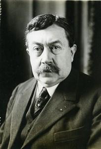 Paris Politician Paul Painlevé Portrait Old Meurisse Photo 1930