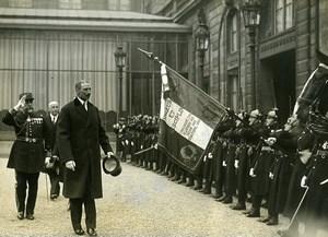 Paris Christian X King of Denmark Reception at Elysée Old Meurisse Photo 1930
