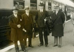 Paris Gare de Lyon Valera Irish President League of Nations Meurisse Photo 1932