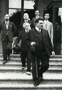 Geneva Edouard Herriot Paul-Boncour League of Nations Old Meurisse Photo 1932