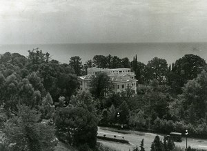 Russia Sochi Sanatorium of the newspaper Pravda Old Photo 1947