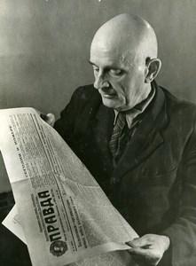 URSS Moscou V A Prokhodko du journal La Pravda ancienne Photo 1947
