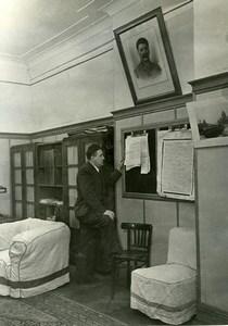 URSS Moscou L A Slepov Journaliste du journal La Pravda ancienne Photo 1947