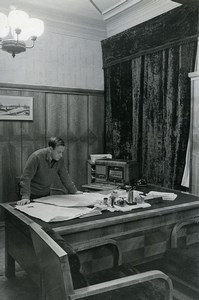 Russia Moscow M A Sivolobov Editor of the newspaper Pravda Old Photo 1947