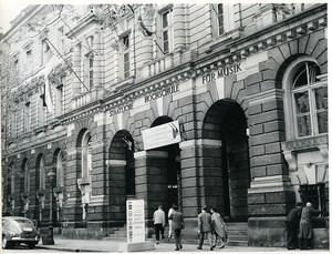 East Germany Leipzig Superior School of Music Hochschule für Musik Photo 1968
