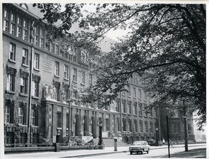 East Germany Leipzig National Library Deutsche Bücherei Old Photo 1970