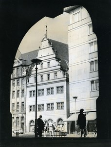 East Germany Leipzig Old Weighing House Alte Waage Market Square Old Photo 1971