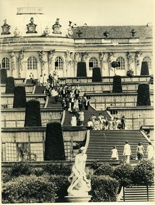 East Germany Potsdam Schloss Sanssouci Castle Old Photo 1970