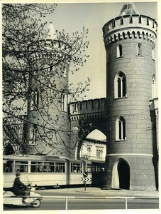 East Germany Potsdam Nauen Gate Nauener Tor Old Photo 1966
