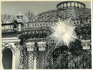 East Germany Potsdam Pavilion of the Sun Old Photo 1966