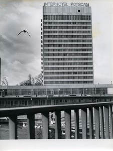 East Germany Potsdam new hotel Interhotel Architecture Old Photo 1969