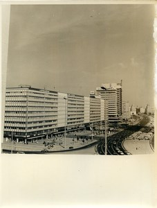 East Germany Berlin Alexanderplatz Automobiles Old Photo 1971