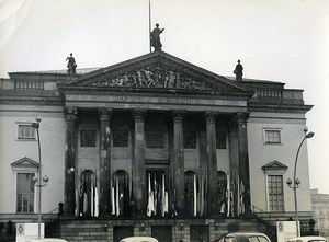 East Germany Berlin State Opera Deutsche Staatsoper Unter den Linden Photo 1965