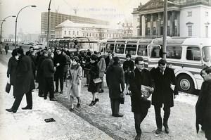 Allemagne Berlin Etudiants Belges de Médecine en visite Leuven ancienne Photo 1966