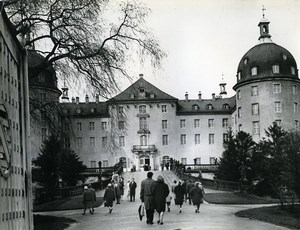 East Germany Dresden Schloss Moritzburg Castle Old Photo 1965